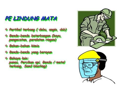 Info Safety Pelindung mata