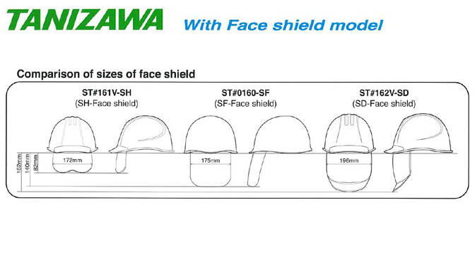 Helmet c/w Face Shield